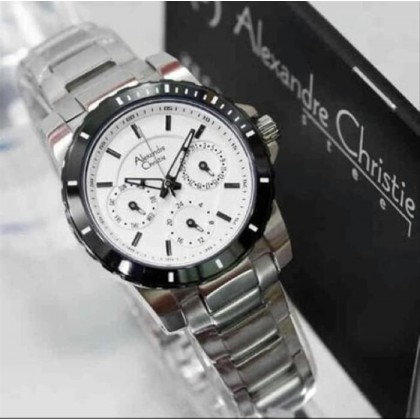 ALEXANDRE CHRISTIE COUPLE WATCH 6141BTBSL