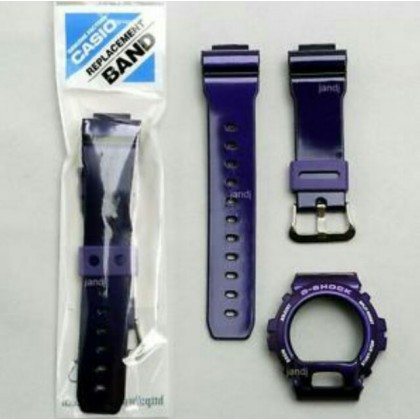 (ORIGINAL) G-SHOCK CASIO DW-6900CC BEZEL & BAND