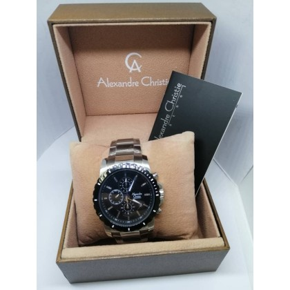 ALEXANDRE CHRISTIE ORIGINAL  MEN'S CHRONOGRAPH 6141 STEEL WATCH