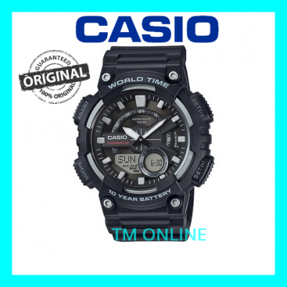 (ORIGINAL+1YR WARRANTY) AEQ-110W-1A CASIO MEN SPORT WATCH